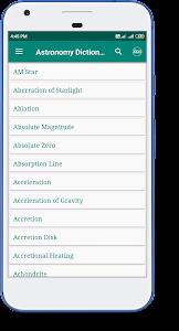 Astronomy Dictionary 1.3