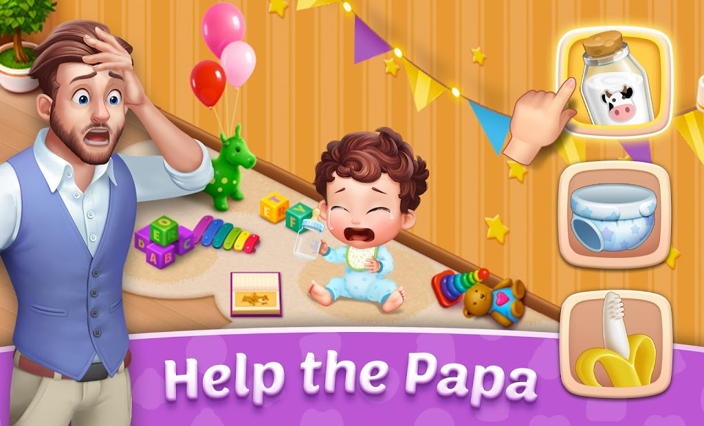 Baby Manor: Baby Raising Simulation & Home Design  poster 17