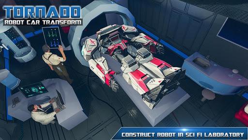 Tornado Robot Car Transform: Hurricane Robot Games 1.0.5 Screenshots 15