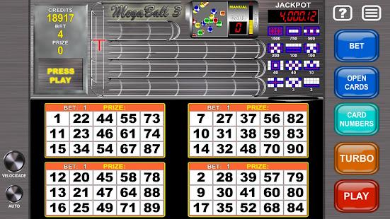Video Bingo Mega Ball Flex
