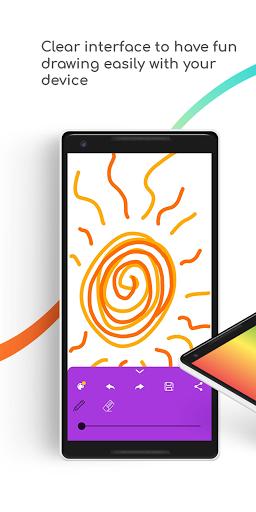 Sgraffito Drawing Pad - Digital art set doodle app 2.2.0 Screenshots 7