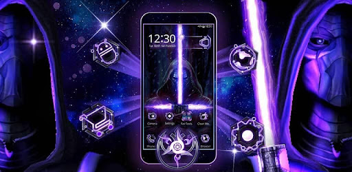 3d Galaxy Wars Star Theme Apps On Google Play