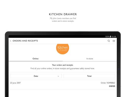 John Lewis & Partners modavailable screenshots 11