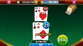 screenshot of BLACKJACK!