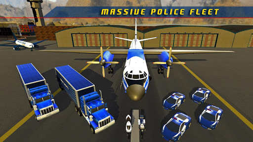 Police Plane Transporter Game  screenshots 20