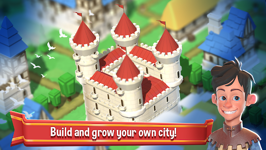 Crafty Town – Merge City Kingdom Builder 0.8.470 Mod APK (Unlock All) 3