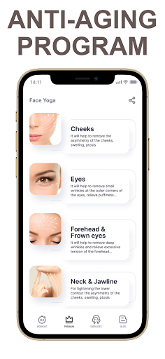 Face Yoga - face exercise for women and skin care  Screenshots 10