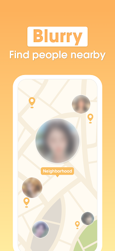 Blurry - Blind Dating android2mod screenshots 3