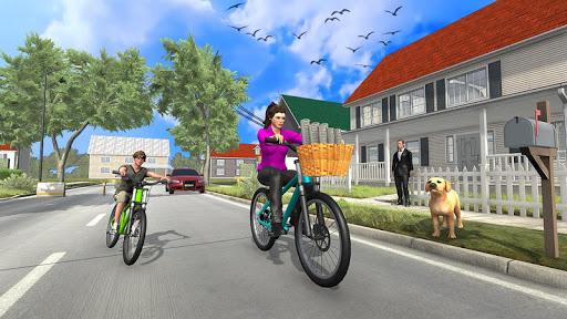Télécharger Travailler maman Paper Girl Jeu de famille mod apk screenshots 1