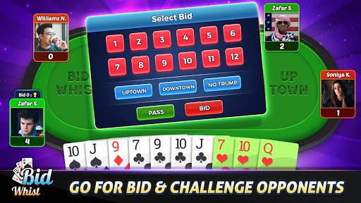 Bid Whist - Best Trick Taking Spades Card Games 12.2 screenshots 2