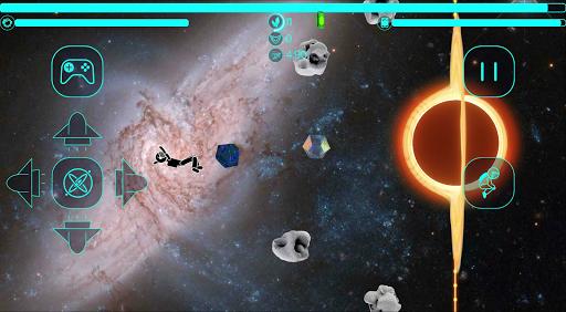 Code Triche Astronaut Stickman in a Space Jetpack Simulator APK MOD (Astuce) screenshots 1