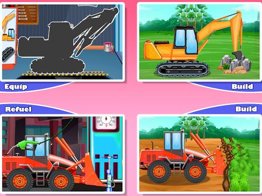 Construction Vehicles & Trucks - Games for Kids  Screenshots 8