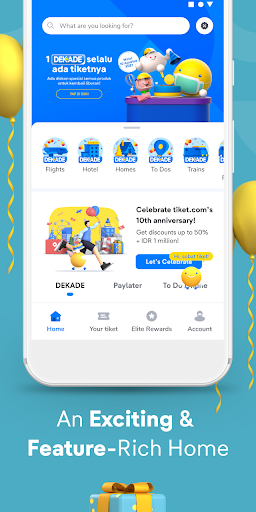 tiket.com - Hotels, Flights, To Dos apktram screenshots 2