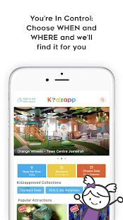 Kidzapp - Kids Activities in UAE and Egypt