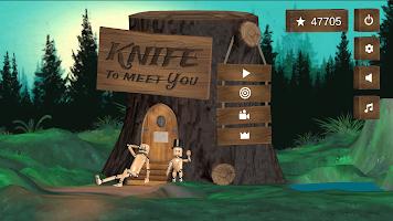 Knife To Meet You: Throwing Simulator