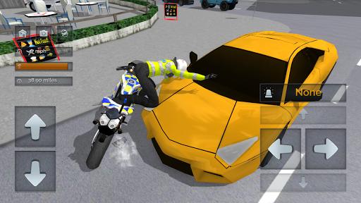 Police Motorbike Simulator 3D screenshots 3