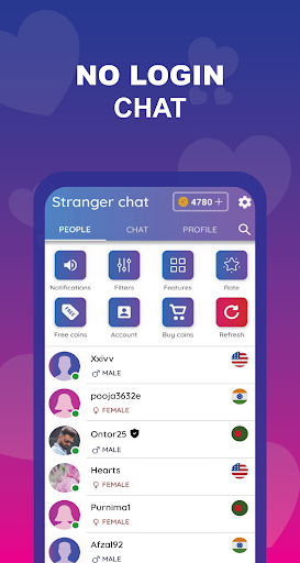 Chathub - Random chat, Hot video call, no login  screenshots 1