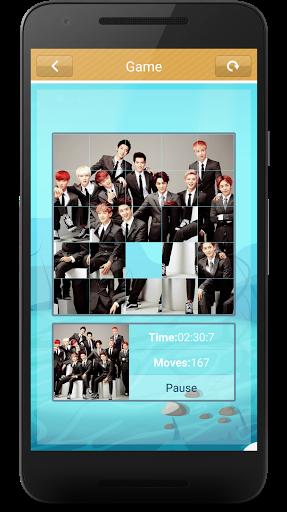 Code Triche EXO Slide Puzzle Game (Astuce) APK MOD screenshots 5