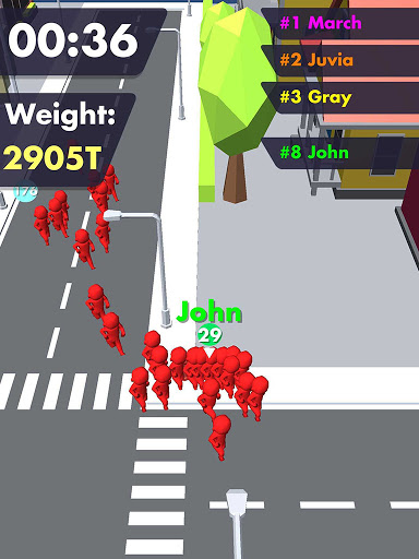 Crowd Buffet - Fun Arcade .io Eating Battle Royale android2mod screenshots 6
