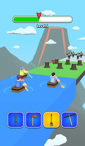 Roblock Transform Run - Epic Craft Race apkpoly screenshots 4