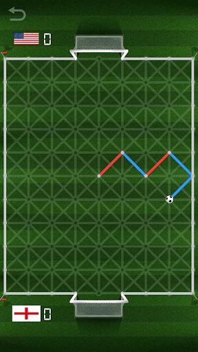 kick it - paper soccer screenshot 2