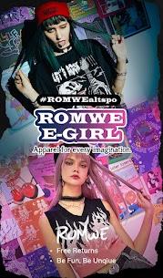 ROMWE -Online Fashion Store Apk 3