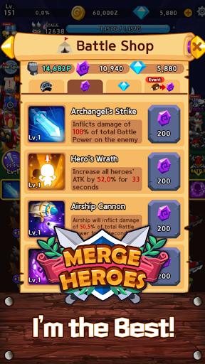 Merge Heroes Frontier: Casual RPG Online 3.3.0 screenshots 21