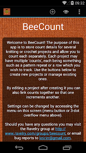 BeeCount Knitting Counter