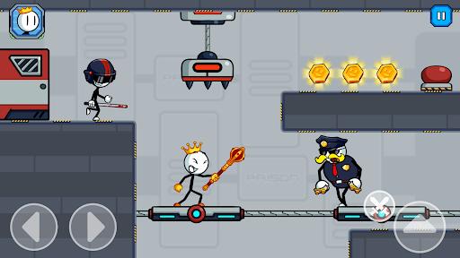 Stick Fight - Prison Escape Journey of Stickman apkpoly screenshots 4