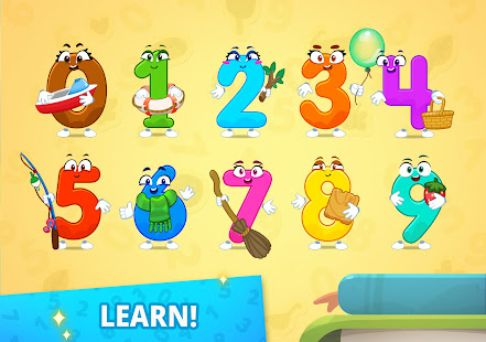 Numbers for kids - learn to count 123 games!