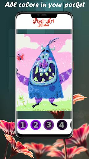 Pixel Art Master, coloring fun apkpoly screenshots 5