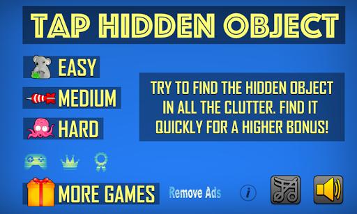 tap hidden object screenshot 1