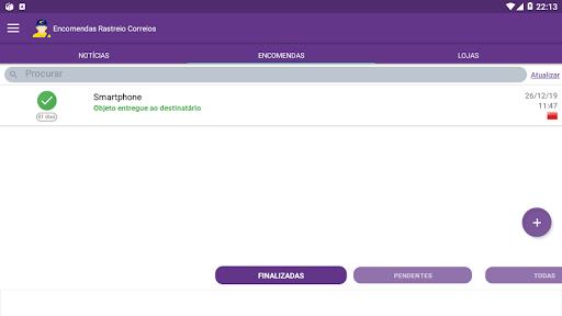Encomendas Rastreio Correio apktram screenshots 7