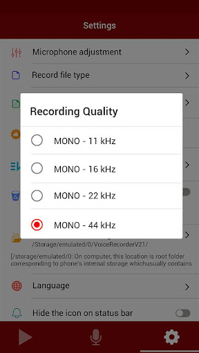 voice recorder screenshot 15