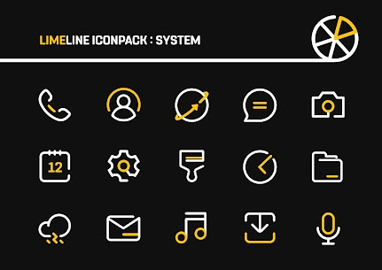 LimeLine Icon Pack Pro Apk: LineX 2.8 (Patched) 1