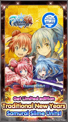 Grand Summoners - Anime Action RPG modiapk screenshots 1
