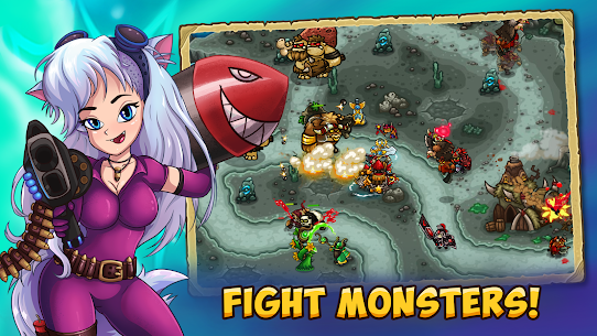 Booblyc TD survival – Realm Tower Defense Strategy 1.0.619 APK + MOD Download 2
