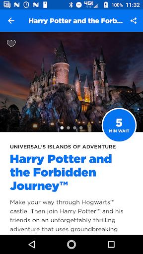 Universal Orlando Resort™ The Official App Screenshot 2