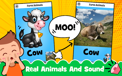 Animal Sounds for babies & Coloring book for kids 1.20 screenshots 5