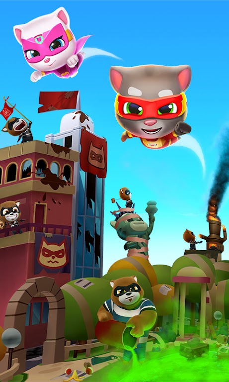 Talking Tom Hero Dash - Run Game  poster 5