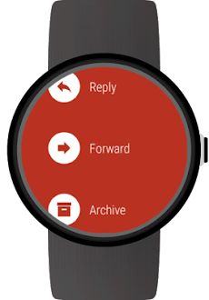 Mail client for Wear OS watchesのおすすめ画像4