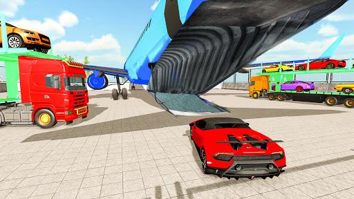 Code Triche Jeux transporteur de voiture: Jeux de camions APK MOD (Astuce) screenshots 4