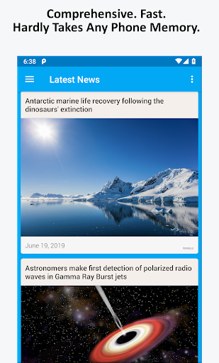Science News, Videos, & Social Media 3.0 Screenshots 1