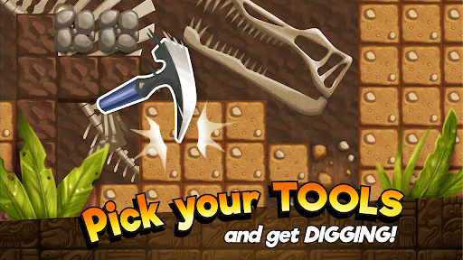 Dino Quest - Dig & Discover Dinosaur Fossil & Bone 1.8.1 screenshots 2