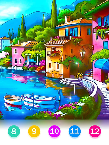 Color by Number - Happy Paint 2.4.3 screenshots 12