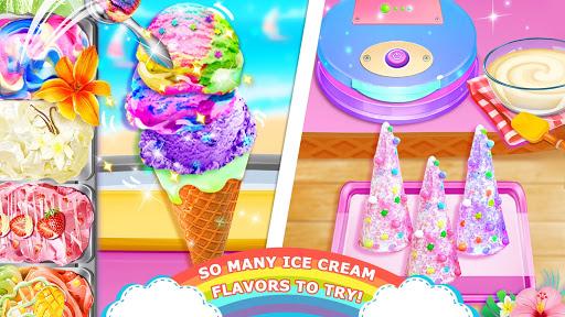 Télécharger Gratuit Unicorn Chef: Summer Ice Foods - Cooking Games mod apk screenshots 4