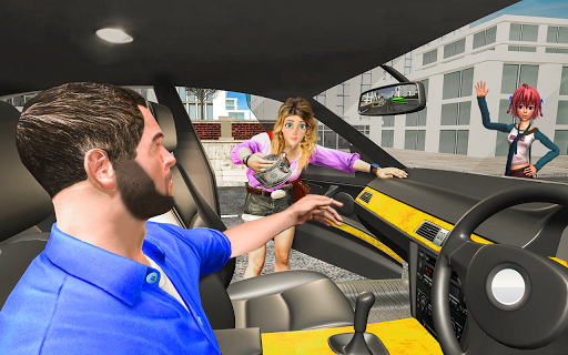 US Taxi Driver 2020 - Free Taxi Simulator Game 1.1 screenshots 2