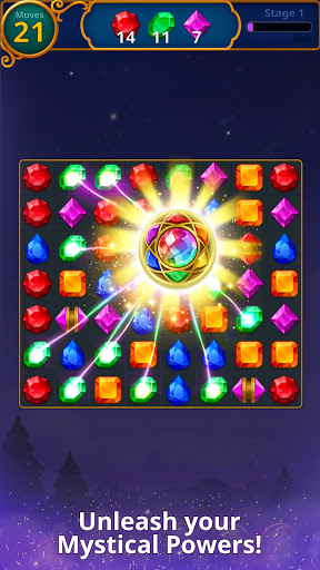 Jewels Magic: Mystery Match3  Screenshots 2