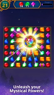 Jewels Magic Mod Apk: Mystery Match3 (Automatically Clear Stage) 5