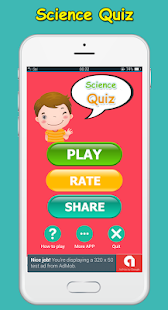 Science Quiz game - fun Screenshot